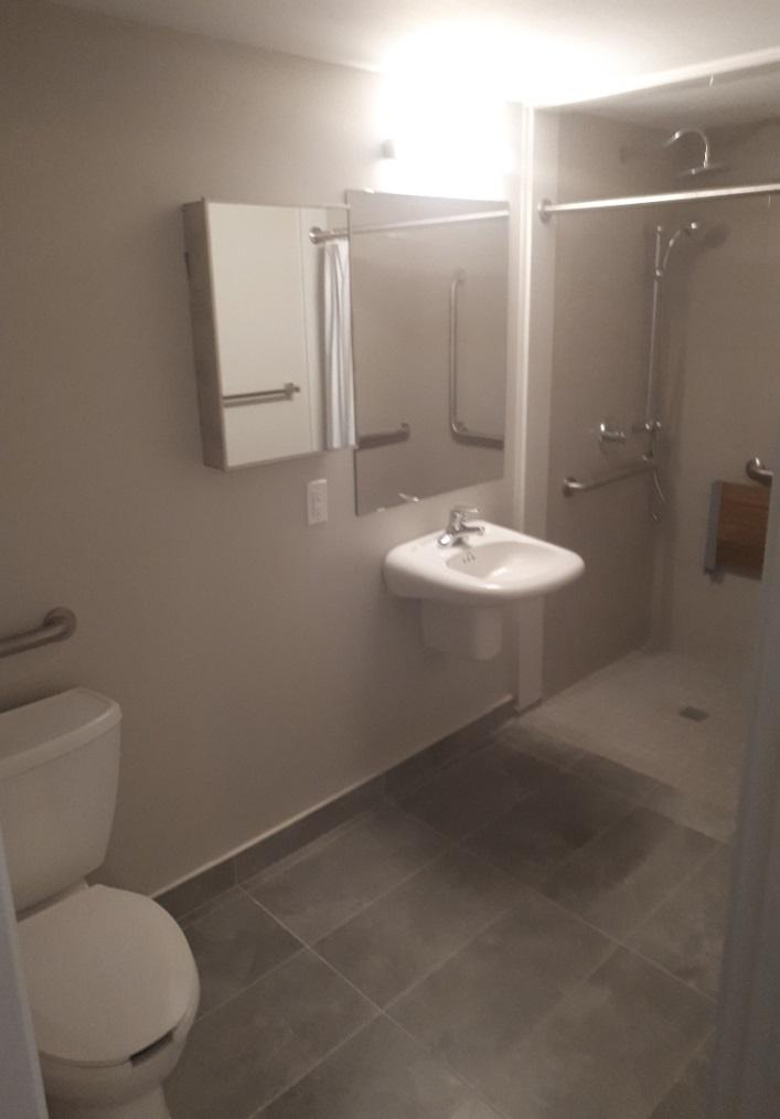 Spacious Washroom